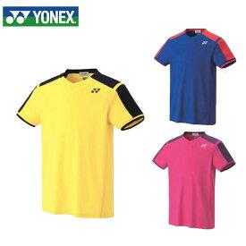 ヨネックス テニスウェア バドミントンウェア ゲームシャツ ジュニア キッズ 10271J 日本バドミントン協会審査合格品 YONEX