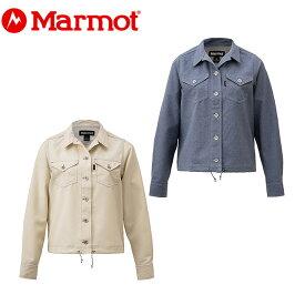 マーモット Marmot 長袖シャツ レディース W's Denim Shirt ウィメンズデニムシャツ TOWNJB79YY