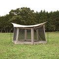夏のアウトドアで大活躍な蚊帳テント・スクリーンテント、日除けにも虫よけに設置しやすいオススメは?