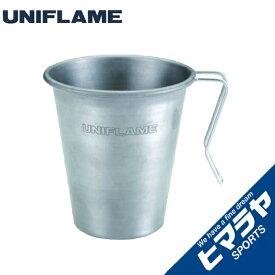 【ポイント5倍 7/26 9:59まで】 ユニフレーム UNIFLAME 食器 マグカップ スタッキングマグ500チタン 666111