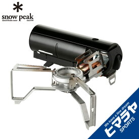スノーピーク シングルバーナー HOME&CAMP ブラック GS-600BK snow peak