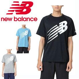 ニューバランス スポーツウェア 半袖Tシャツ メンズ アクセレレイトJETNBグラフィックショートスリーブTシャツ JMTR9126 new balance