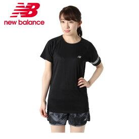 ニューバランス スポーツウェア 半袖Tシャツ レディース SSスリーブ RN JWTR9018 BKH new balance