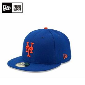ニューエラ NEW ERA キャップ 帽子 メンズ レディース 59FIFTY フィフティー MLB メジャーリーグ ベースボール オンフィールド ニューヨーク・メッツ 11449356