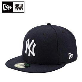 ニューエラ NEW ERA キャップ 帽子 メンズ レディース 59FIFTY MLB オンフィールド ニューヨーク・ヤンキース ゲーム 11449355