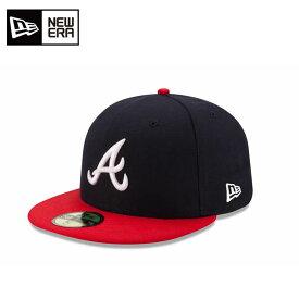 ニューエラ NEW ERA キャップ 帽子 メンズ レディース 59FIFTY フィフティー MLB メジャーリーグ ベースボール アトランタ・ブレーブス ホーム 11449395