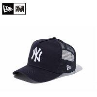 ニューエラNEWERAキャップ帽子メンズレディース9FORTYフィフティーD-Frameフレームトラッカーニューヨーク・ヤンキース11120140