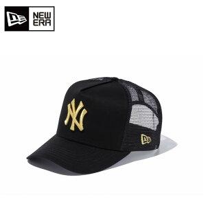 ニューエラ キャップ 帽子 メンズ レディース 9FORTY フィフティー D-Frame フレーム トラッカー ニューヨーク・ヤンキース 11120228 NEW ERA