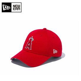 ニューエラ NEW ERA キャップ 帽子 ジュニア Youth ユース Basic Cap ベーシックキャップ MLB ロサンゼルス・エンゼルス 12018970