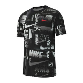 ナイキ スポーツウェア 半袖 メンズ DRI-FIT ドライフィット DFC CHALK AOP Tシャツ BQ1912 010 NIKE