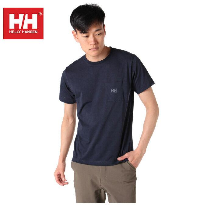 ヘリーハンセン HELLY HANSEN Tシャツ 半袖 メンズ Plain Pocket Tee プレイン ポケット HOEV61902 HB