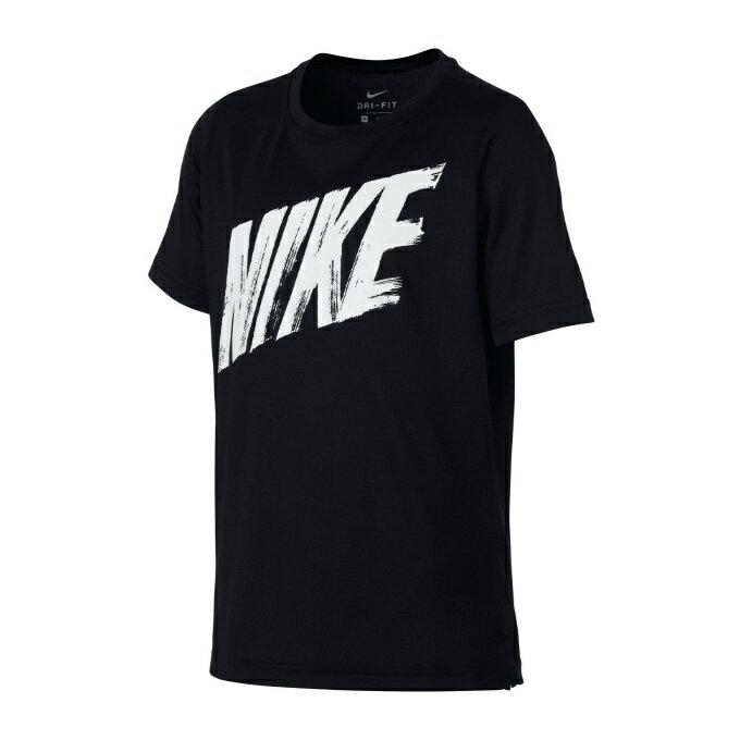 ナイキ Tシャツ 半袖 ジュニア Dri-FIT ドライフィット AQ9554 011 NIKE