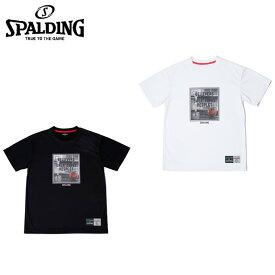 スポルディング SPALDING バスケットボールウェア 半袖シャツ メンズ レディース Tシャツ RESPECT リスペクト SMT180030