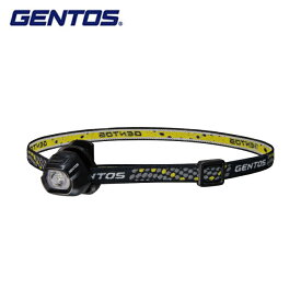 ジェントス ヘッドライト 小型ヘッドライト クリップヘッドライト HC-24BK GENTOS