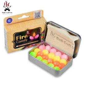 ブッシュクラフト 着火剤 ファイヤーキャンディ Fire Candy 20粒入り BC-23081 Bush Craft