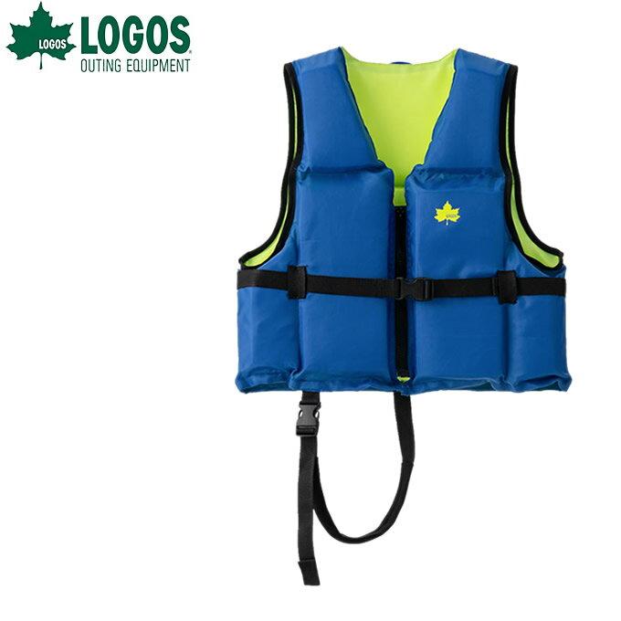 ロゴス LOGOS ライフジャケット ジュニア フローティングベスト子供用M-AI 66812110