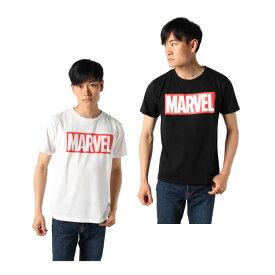 マーベル MARVEL Tシャツ 半袖 メンズ ロゴT MV-ST07(M)