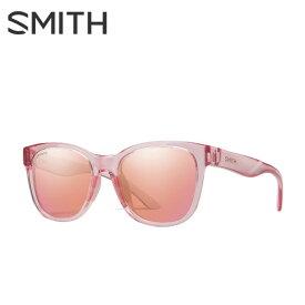 スミス SMITH サングラス メンズ レディース Caper Pink Crystal ケイパー ピンク クリスタル CAPERPINK CRYSTAL/CP-CONT ROSE