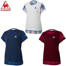 ルコック テニスウェア Tシャツ 半袖 レディース 半袖シャツ QTWOJA04  le coq sportif
