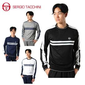 セルジオ タッキーニ SERGIO TACCHINI テニスウェア スウェットトレーナー メンズ ライト クルー ST530315I57