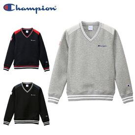 チャンピオン Champion ゴルフウェア スウェット レディース ウィメンズ Wrap-Air ラップエアー Vネック CW-QG001