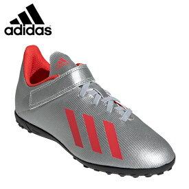 アディダス サッカー トレーニングシューズ ジュニア エックス 19.4 TF ベルクロ フットサル用 ターフ用 EF9127 GNH38 adidas