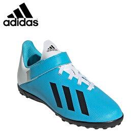 アディダス サッカー トレーニングシューズ ジュニア エックス 19.4 TF ベルクロ EF9126 GNH38 adidas