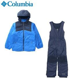 コロンビア スノーボードウェア 上下セット ジュニア ダブルフレークセット SY1093-439 Columbia