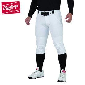ローリングス 野球 練習着 パンツ メンズ レディース 4Dハイパーストレッチショートフィットパンツ 裏起毛 APP9F01 Rawlings