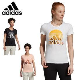 アディダス Tシャツ 半袖 レディース MH ホイル Tシャツ FYM85 adidas