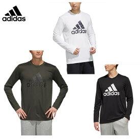 アディダス スポーツウェア 長袖 メンズ M MUSTHAVES マストハブ CAMOグラフィック 長袖Tシャツ FYK42 adidas