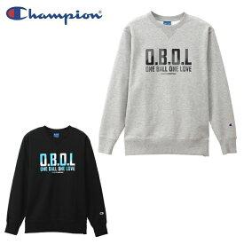 【基本送料無料 3/6 8:59まで】 チャンピオン Champion スウェットトレーナー メンズ レディース クルーネックスウェットシャツ E-MOTION C3-QB011