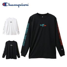 チャンピオン Champion バスケットボール 長袖シャツ メンズ プラクティスロングTシャツ E-MOTION C3-QB413