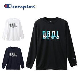 チャンピオン バスケットボール 長袖シャツ メンズ プラクティスロングTシャツ E-MOTION C3-QB415 Champion