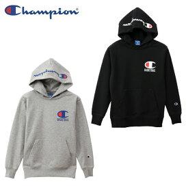 チャンピオン Champion スウェットパーカー ジュニア キッズ プルオーバースウェットパーカー E-MOTION CK-QB122
