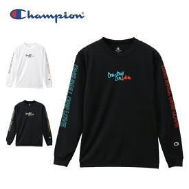 チャンピオン バスケットボール 長袖シャツ ジュニア キッズ プラクティスロングスリーブTシャツ E-MOTION CK-QB410 Champion
