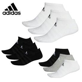 アディダス 3足組ソックス メンズ レディース パフォーマンス3Pアンクルソックス FXI60 adidas