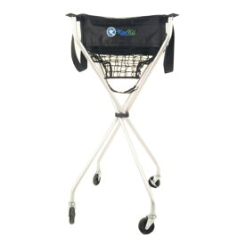 kookii(クッキー) テニス ボールかご テニス用ボールキャリー 折畳式キャスター付き SPJ-001-01