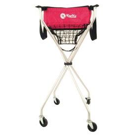 クッキー テニス ボールかご テニス用ボールキャリー 折畳式キャスター付き SPJ-001-03 kookii