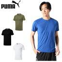 プーマ スポーツウェア 半袖 メンズ EVOSTRIPE エヴォストライプ 機能Tシャツ 844182 PUMA
