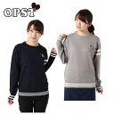 オプスト OPST ゴルフウェア セーター レディース クルーネックニット OP220404I02