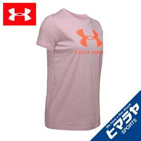 アンダーアーマー Tシャツ 半袖 レディース UAグラフィック スポーツスタイル クラシック クルー 1346844 694 UNDER ARMOUR