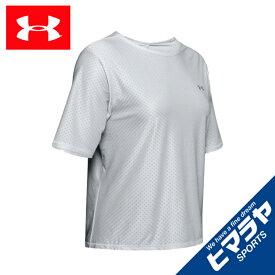アンダーアーマー Tシャツ 半袖 レディース UAアーマースポーツ ショートスリーブ 1344482 014 UNDER ARMOUR