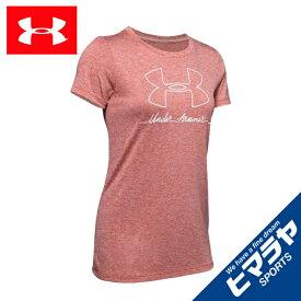 アンダーアーマー Tシャツ 半袖 レディース UAテック ショートスリーブ クルー ネック 1351008 692 UNDER ARMOUR