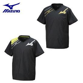 ミズノ バレーボールウェア ピステ 半袖 メンズ レディース 半袖ブレーカーシャツ V2ME9501 MIZUNO