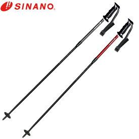 シナノ SINANO スキーストック メンズ レディース 伸縮カーボンポール FREE M