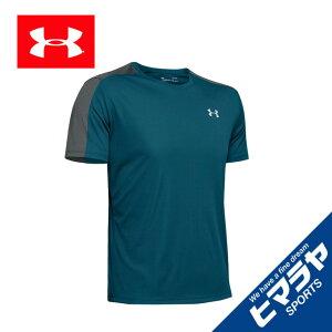 アンダーアーマー スポーツウェア 半袖Tシャツ メンズ スピードストライド ショートスリーブ ランニング MEN 1326564-417 UNDER ARMOUR