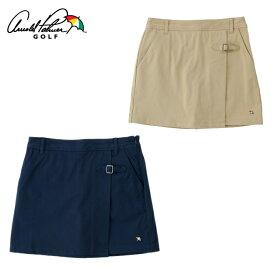 アーノルドパーマー arnold palmer ゴルフウェア スカート レディース ストレッチラップ風スカート AP220408I02