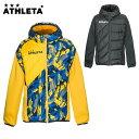 アスレタ ATHLETA サッカーウェア ウインドブレーカージャケット メンズ 中綿ハイブリッドウォームJKT 04126