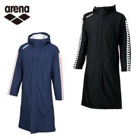 アリーナ arena スイムウェア メンズ レディース ロングコート ARN-6330